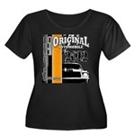 Original Muscle Car Orange Women's Plus Size Scoop