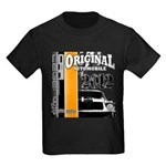 Original Muscle Car Orange Kids Dark T-Shirt
