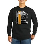 Original Muscle Car Orange Long Sleeve Dark T-Shir