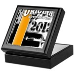 Original Muscle Car Orange Keepsake Box
