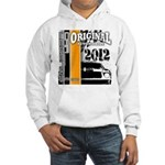 Original Muscle Car Orange Hooded Sweatshirt