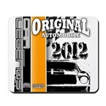 Original Muscle Car Orange Mousepad