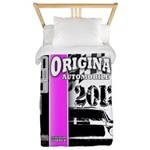 Original Muscle Car Pink Twin Duvet