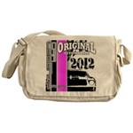 Original Muscle Car Pink Messenger Bag