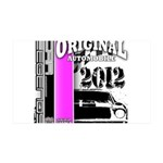 Original Muscle Car Pink 38.5 x 24.5 Wall Peel