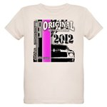 Original Muscle Car Pink Organic Kids T-Shirt