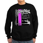 Original Muscle Car Pink Sweatshirt (dark)