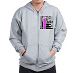 Original Muscle Car Pink Zip Hoodie