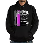 Original Muscle Car Pink Hoodie (dark)