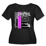 Original Muscle Car Pink Women's Plus Size Scoop N