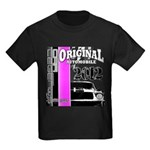 Original Muscle Car Pink Kids Dark T-Shirt