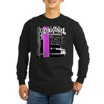 Original Muscle Car Pink Long Sleeve Dark T-Shirt