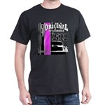 Original Muscle Car Pink Dark T-Shirt
