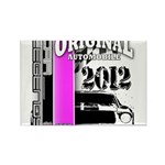 Original Muscle Car Pink Rectangle Magnet (100 pac