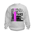 Original Muscle Car Pink Kids Sweatshirt