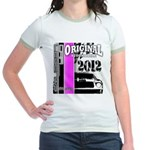 Original Muscle Car Pink Jr. Ringer T-Shirt