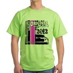 Original Muscle Car Pink Green T-Shirt