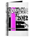 Original Muscle Car Pink Journal