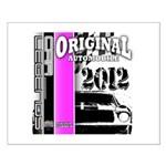 Original Muscle Car Pink Small Poster