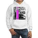 Original Muscle Car Pink Hooded Sweatshirt