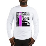 Original Muscle Car Pink Long Sleeve T-Shirt