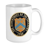 Large Treasury Department Coffee Mug
