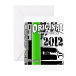 Original Muscle Car Green Greeting Cards (Pk of 10
