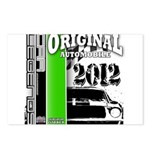 Original Muscle Car Green Postcards (Package of 8)