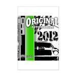 Original Muscle Car Green Mini Poster Print