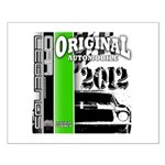 Original Muscle Car Green Small Poster