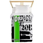 Original Muscle Car Green Twin Duvet