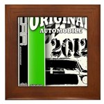 Original Muscle Car Green Framed Tile