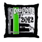 Original Muscle Car Green Throw Pillow