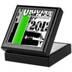 Original Muscle Car Green Keepsake Box