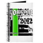 Original Muscle Car Green Journal