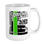 Original Muscle Car Green Large Mug