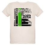Original Muscle Car Green Organic Kids T-Shirt