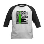 Original Muscle Car Green Kids Baseball Jersey