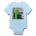 Original Muscle Car Green Infant Bodysuit