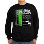 Original Muscle Car Green Sweatshirt (dark)