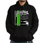 Original Muscle Car Green Hoodie (dark)