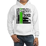 Original Muscle Car Green Hooded Sweatshirt