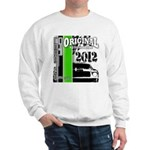 Original Muscle Car Green Sweatshirt