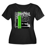 Original Muscle Car Green Women's Plus Size Scoop