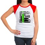 Original Muscle Car Green Women's Cap Sleeve T-Shi