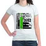 Original Muscle Car Green Jr. Ringer T-Shirt