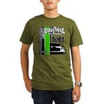 Original Muscle Car Green Organic Men's T-Shirt (d