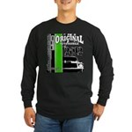 Original Muscle Car Green Long Sleeve Dark T-Shirt