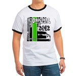Original Muscle Car Green Ringer T