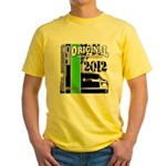 Original Muscle Car Green Yellow T-Shirt